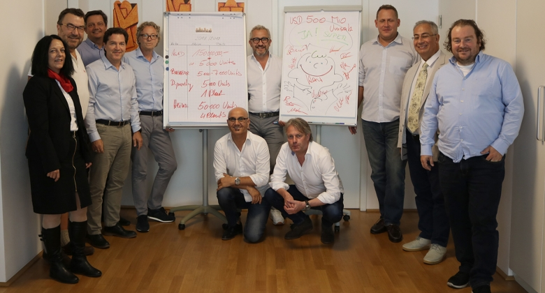 First international GHS sales meeting in Austria