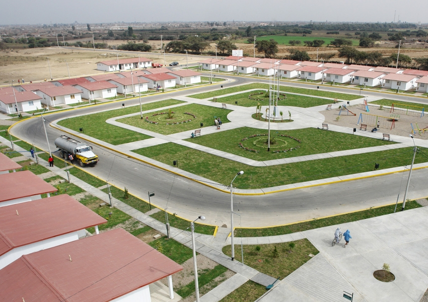 Siedlung mit GHS Permanent Homes in Chincha, Peru